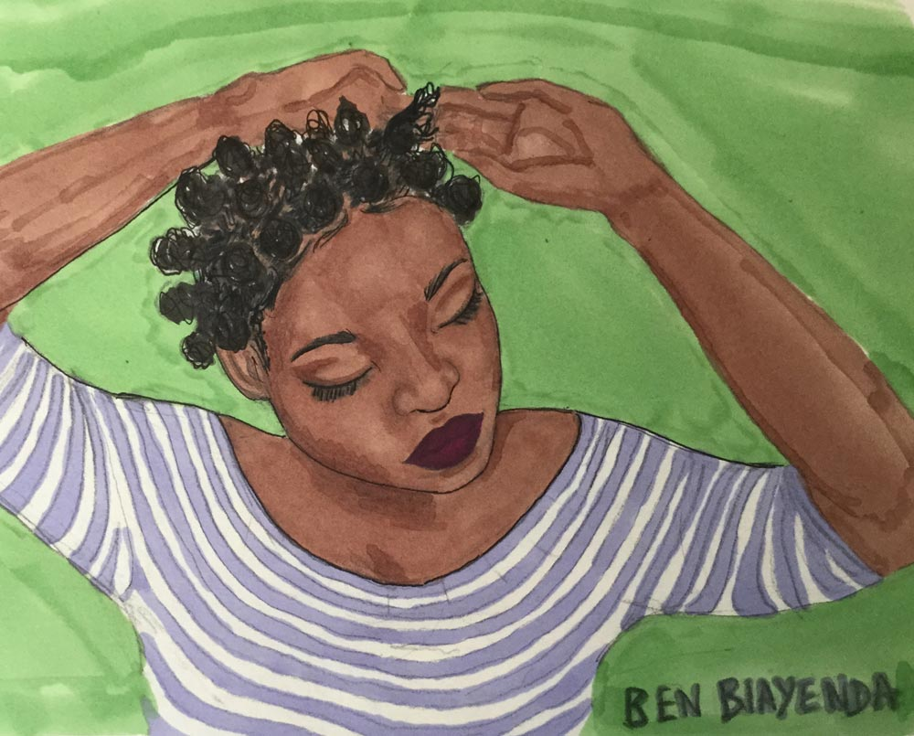 Ben Biayenda, the teen who exhalted black women