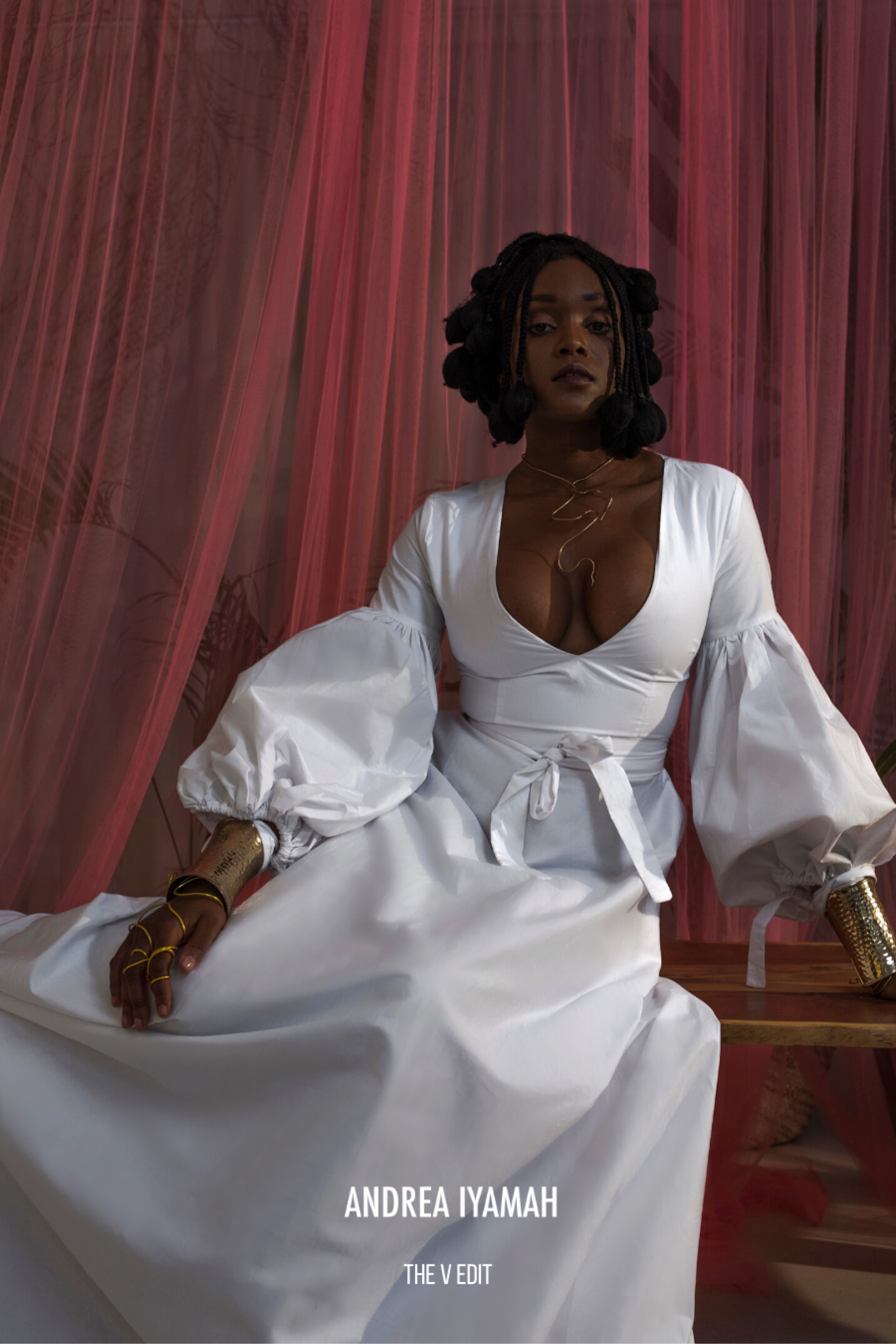"""The V edit"", la collection spéciale Saint Valentin d'Andrea Iyamah"