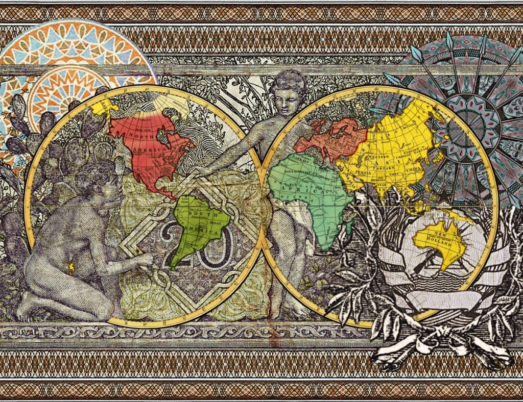 Figures 1799, Explorers routes