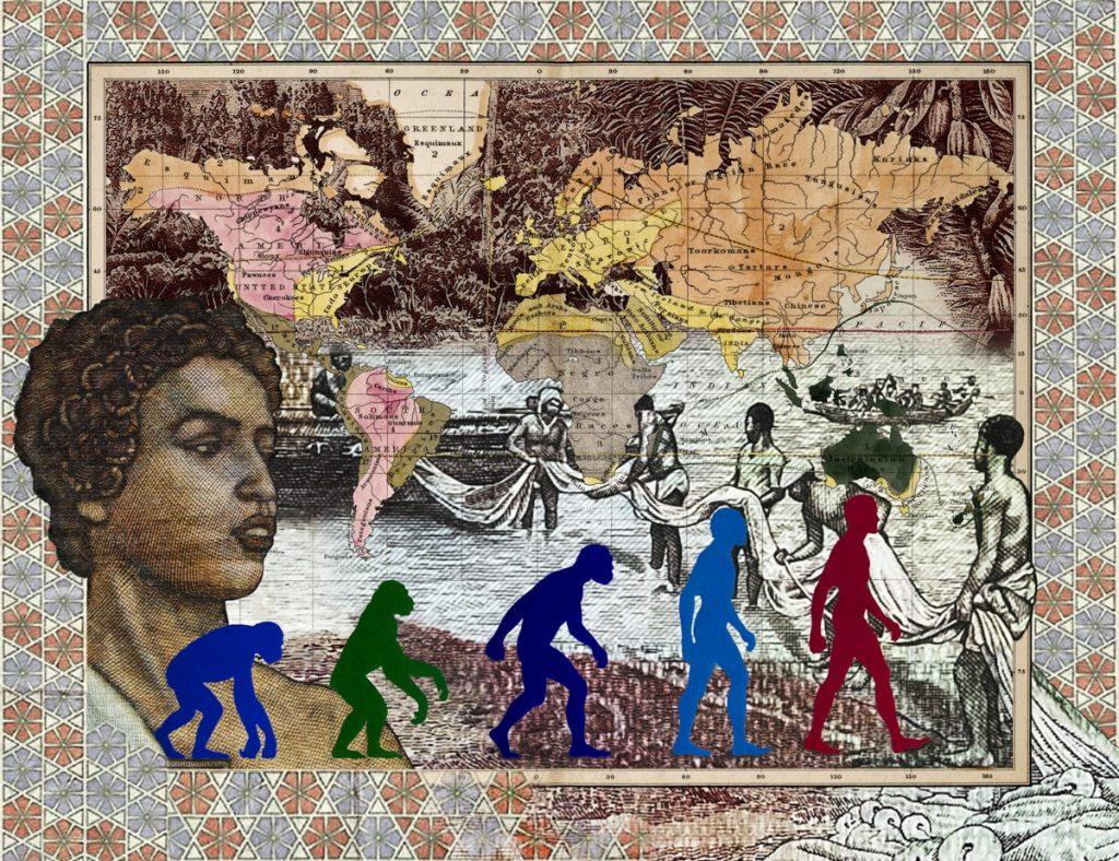 Figures 1856, Leading races of man